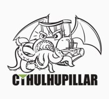 A very hungry Cthulhupillar by roqui