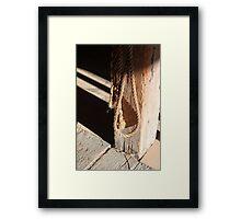 In the Barn 2 Framed Print