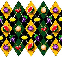 Fruity Argyle Pattern by PrivateVices