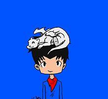 Dragon and Dragonlord by kikikent