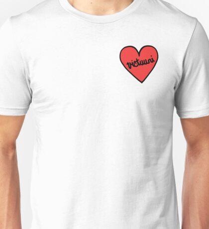 Yuri on Ice Victuuri Heart Patch Unisex T-Shirt