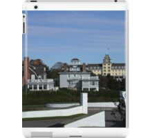 watch hill, view from Taylor Swifts house iPad Case/Skin