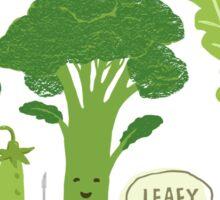 Go Green! (Leafy Green!) Sticker