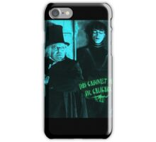 Cabinet of Dr. Caligari iPhone Case/Skin