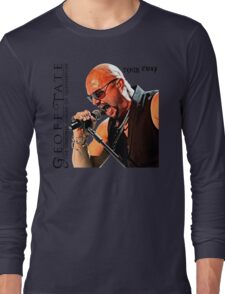 the original singer of queensryche - geoff tate limited hot cover Long Sleeve T-Shirt