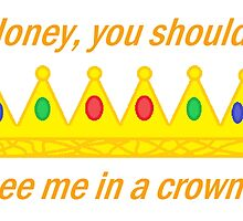 Honey, You Should See Me In A Crown | Sherlock | White by GwenReu
