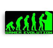 Gamer Evolution Canvas Print