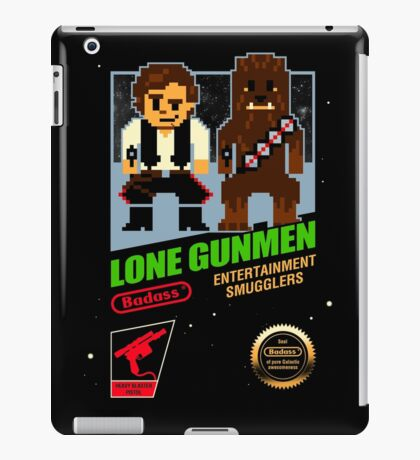 Lone Gunmen iPad Case/Skin