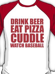 CUDDLE BASEBALL T-Shirt