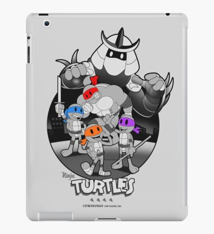 Old School Turtles iPad Case/Skin