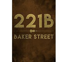 221B Baker Street (Colour) Photographic Print
