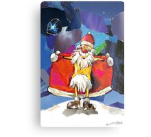 Santa Claus is Coming to Town! Metal Print