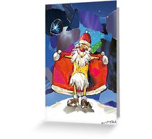 Santa Claus is Coming to Town! Greeting Card