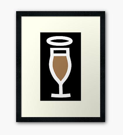 ALCOHOL ANGEL Framed Print