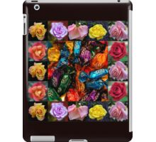 Roses Collage - Chocolates and Flowers  iPad Case/Skin