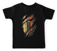 Awesome transparent mix cassette tape volume 1 Kids Tee