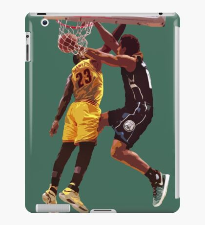 Malcolm Brogdon Dunk on LeBron James iPad Case/Skin