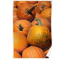 Pumpkin Pile 1 Poster