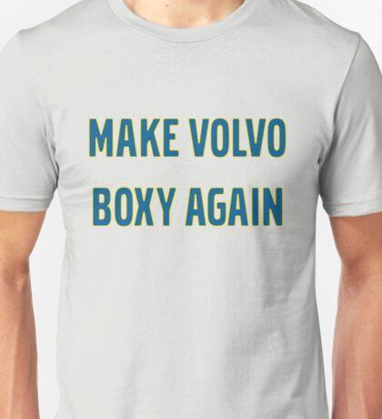 Make Volvo Boxy Again Unisex T-Shirt