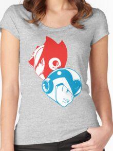 X & Zero Women's Fitted Scoop T-Shirt