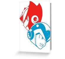 X & Zero Greeting Card