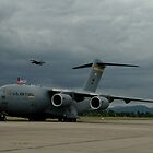 C-17 & Hornet, Richmond Airshow 2006 by muz2142