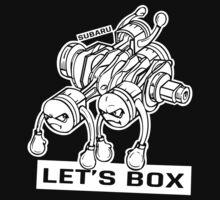 let's lets box funny geeks geek logo by porsandi