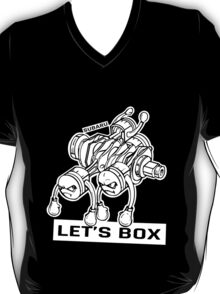 let's lets box funny geeks geek logo T-Shirt