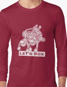 let's lets box funny geeks geek logo Long Sleeve T-Shirt