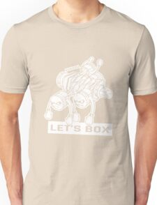 let's lets box funny geeks geek logo Unisex T-Shirt