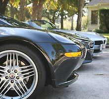 Z8 Alpina and friends  by LynnEngland