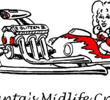 Santa's Midlife Crisis Sticker