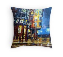 Prague Dancing House  Throw Pillow