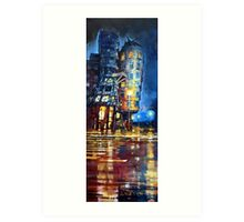 Prague Dancing House  Art Print