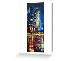 Prague Dancing House  Greeting Card