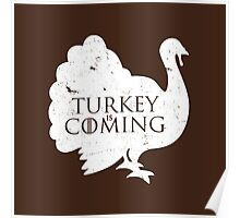 Turkey is Coming Poster
