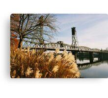 Hawthorne Bridge 2 - Portland, Oregon  Canvas Print