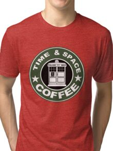 COFFEE: TIME AND SPACE Tri-blend T-Shirt
