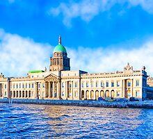 The Classic Custom House - Dublin Ireland by Mark Tisdale