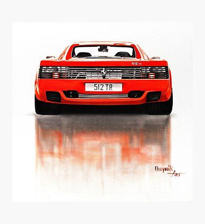 Ferrari 512 TR Photographic Print