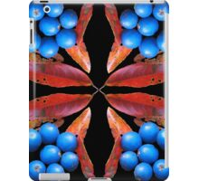 Blue Quondong compilation iPad Case/Skin