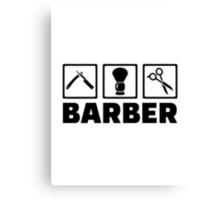 Barber Canvas Print