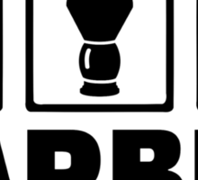 Barber Sticker