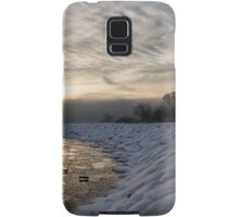 Cold, Moody and Fabulous - a Winter Morning on the Lake Shore Samsung Galaxy Case/Skin
