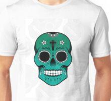 Mexican Skull Print Unisex T-Shirt