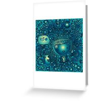 say hello to the night Greeting Card