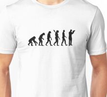 Evolution barkeeper bartender Unisex T-Shirt