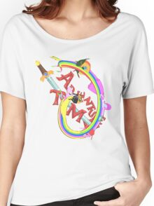 Adventure Time Mash Women's Relaxed Fit T-Shirt