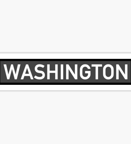 Washington C Sticker