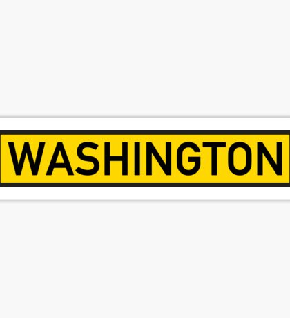 Washington Y Sticker